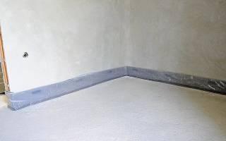 Как крепить демпферную ленту к стене?
