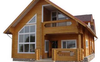 Какой фундамент лучше для дома из бруса?
