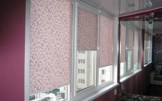 Как крепить рулонные шторы на пластиковые окна?