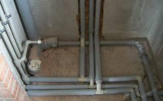 Можно ли полипропиленовые трубы заливать бетоном?