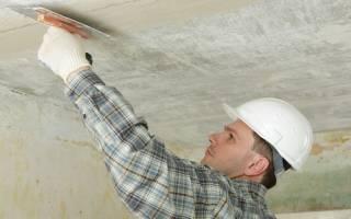 Какая шпаклевка лучше для потолка под покраску?