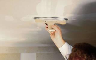 Как зашпаклевать потолок своими руками?