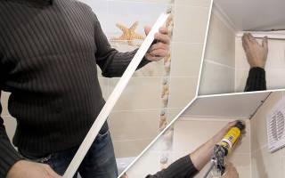 Как правильно наклеить потолочный плинтус в углах?