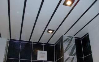 Как делать навесной потолок из панелей?