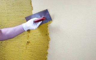 Как правильно нанести декоративную штукатурку на стены?