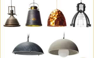 Как называются длинные лампы на потолке?