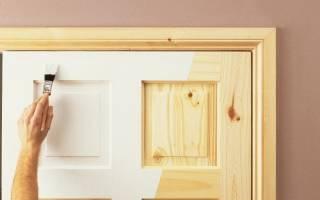 Как покрасить деревянные двери в домашних условиях?