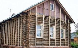 Как утеплить старый деревянный дом снаружи?