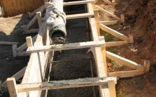 Как посчитать объем бетона на фундамент?