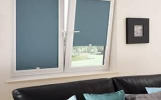 Как закрепить рулонные шторы на пластиковые окна?