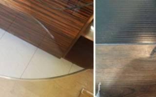 Как сделать стык между плиткой и ламинатом?