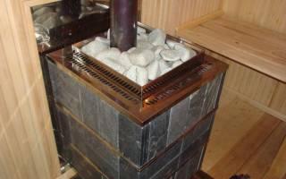 Как сделать отопление в бане от печки?