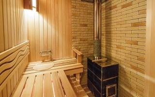 Как сделать электропроводку в бане?