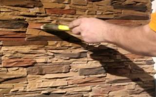 Как покрасить искусственный камень в домашних условиях?