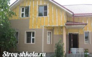 Как правильно утеплить стены деревянного дома снаружи?