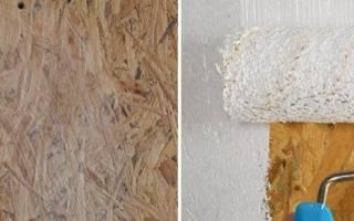 Как покрасить плиту osb?