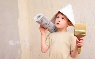 Как клеить виниловые обои на потолок?