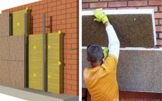 Как утеплить кирпичную стену снаружи?