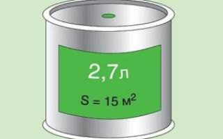 Как рассчитать краску для покраски стен?