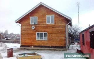 Как утеплить брусовой дом для зимнего проживания?