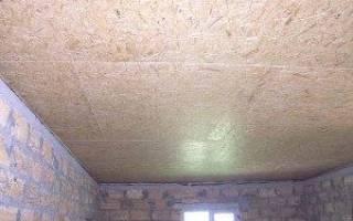Как сделать потолок в гараже своими руками?