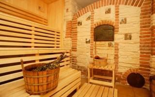 Какая высота потолка должна быть в бане?