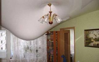 Чем обработать потолок после протечки?