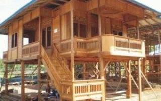 Какие бывают фундаменты для деревянного дома?