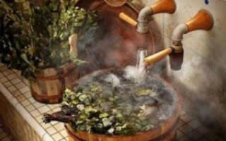 В какой воде замачивать веник для бани?