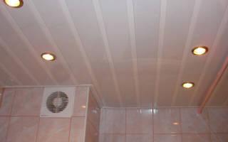 Как крепить потолочные панели из пластика?