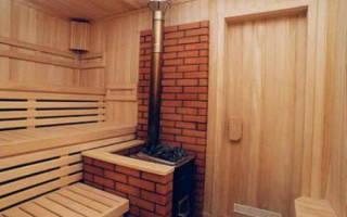 Как правильно установить дымоход в бане?