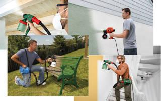 Как выбрать краскопульт для покраски дома?