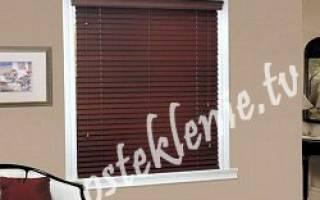 Как крепить рулонные шторы на деревянные окна?