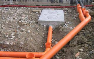Как утеплить канализационную трубу в земле?