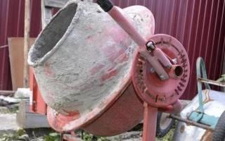 Как очистить бетономешалку от застывшего бетона?