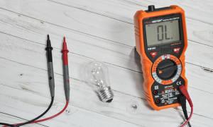 Как проверить неоновую лампу тестером?