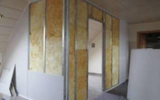Как сделать конструкцию из гипсокартона на стене?