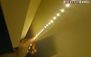 Отклеивается светодиодная лента что делать?