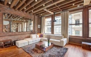 Как обыграть балку на потолке в квартире?