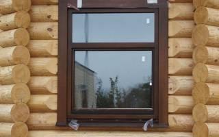 Как закрепить пластиковое окно в деревянном доме?