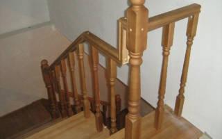 Как покрасить лестницу из сосны своими руками?