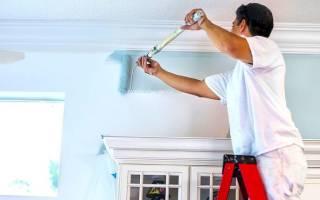 Как покрасить стены водоэмульсионной краской без разводов?