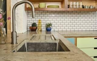 Как сделать столешницу из бетона своими руками?