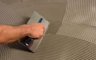 Можно ли использовать плиточный клей вместо штукатурки?