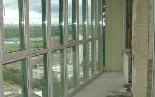 Как утеплить панорамный балкон?