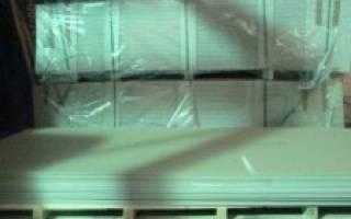 Как хранить гипсокартон в неотапливаемом помещении?