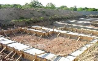 Как правильно сделать фундамент под баню?