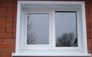 Как установить металлические откосы на окна?