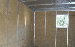 Как утеплить стены в гараже изнутри?