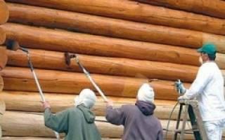 Как правильно покрасить деревянный дом снаружи?
